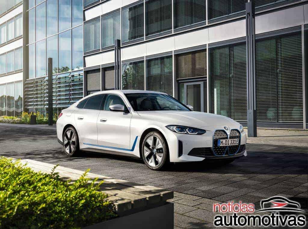BMW i4 e iX são confirmados para o mercado brasileiro