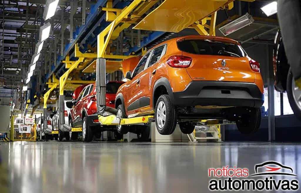 Anfavea reduz projeção para 2021 em 2,038 milhões de veículos