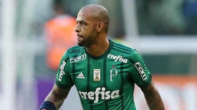 Felipe Melo recebe proposta para renovar com o Palmeiras por mais uma temporada